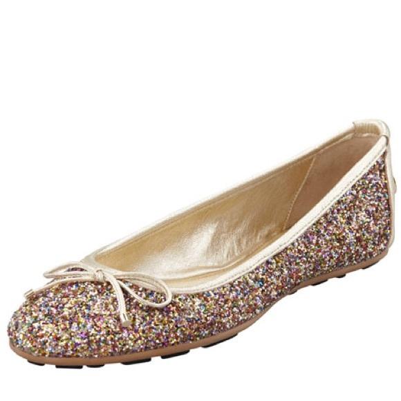 7ef1b1a9ac7 Jimmy Choo Shoes - Jimmy Choo Walsh glitter ballerina